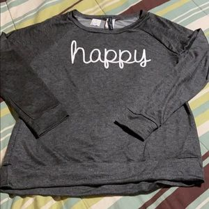 Pullover Sweatshirt Style Top. NWT!